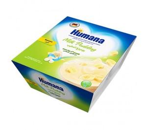 Humana Milk Banana Dessert 4x100g