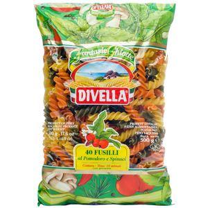 Divella Pasta Fusilli Tricolor 500g