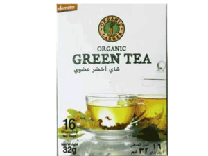 Organic Larder Green Tea 32g