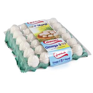 White Omega3 Eggs 30s 30s
