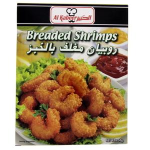 Al Kabeer Breaded Shrimps 250gm