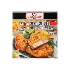 Zing Fish Fillets 12x390gm