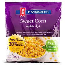 Emborg Sweet Corn 900g