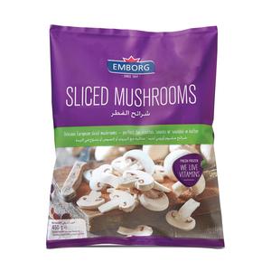 Emborg Sliced Mushroom 450g