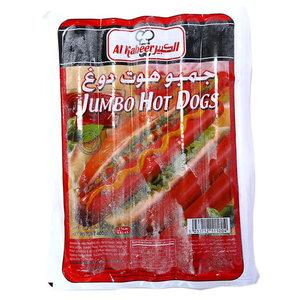 Al Kabeer Jumbo Hot Dog 400gm