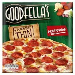 Goodfellas Pizza Thin & Crispy Halal Pepperoni 340gm