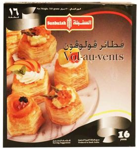 Sunbulah Vol Au Vents 12x510g