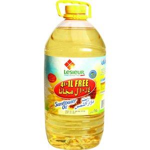 Lesieur Sunflower Oil Bottle 1x5L