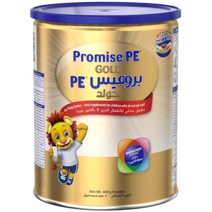 Wyeth Nutrition Promise Pe Picky Eater Gold Premium Milk Powder For 1-10 Years 400g