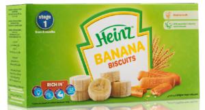 Heinz Baby Biscuits Banana 240g