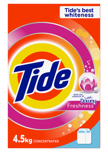 Tide Laundry Powder Detergent With Essence Of Downy 4.5kg