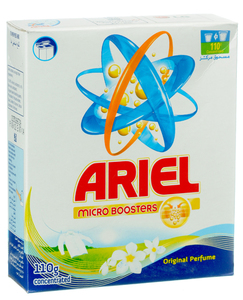 Ariel Laundry Powder Detergent Original Scent 110gm