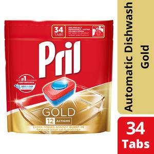 Pril Gold Action Dishwash Duo 34tabs