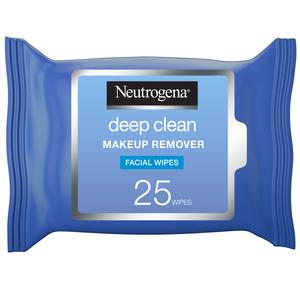 Neutrogena Deep Clean Makeup Remover Facial Wipes 25s
