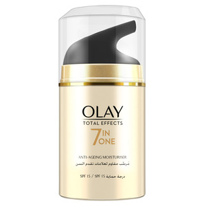 Olay Face Moisturizer Total Effects 7inOne Anti Ageing Day Cream SPF15 with Vitamin B3 50ml