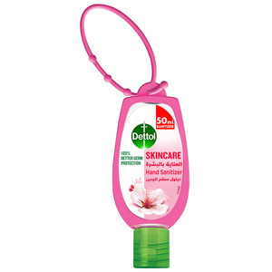 Dettol Skincare Anti-Bacterial Hand Sanitizer With Jacket 50ml