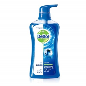 Dettol Active Anti-Bacterial Sea Minerals Body Wash 500ml