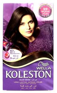 Wella Koleston Color Cream Kit   Dark Brown 1pc
