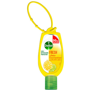 Dettol Fresh Hand Sanitizer With Jacket 50ml