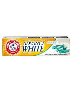 Arm & Hammer Tooth Paste Advance White Brilliant Sparkle Gel 115g