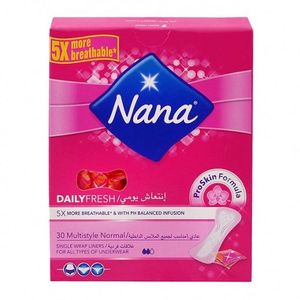 Pantyliner Multistyle 30s