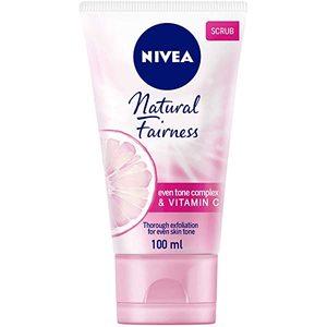 Nivea Natural Fairness Exfoliating Face Scrub Carnitin & Vitamin C 100ml