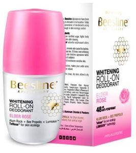 Beesline Roll On Deodorant Whitening Elder Rose 50ml
