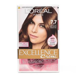 L'oreal Excellence Crème Hair Color 7.7 Honey Brown 75ml