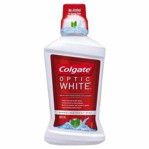Colgat Optic White Mouth Wash 500ml
