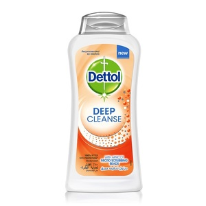 Dettol Deep Cleanse with Apricot Micro Scrubbing Beads 250ml