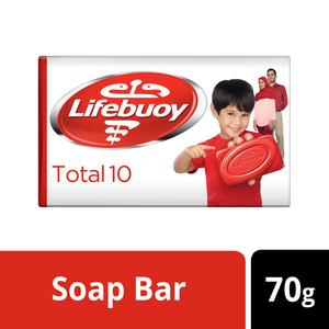 Lifebuoy Anti Bacterial Bar Total 10 70g