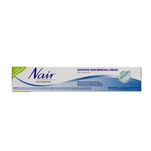 Nair Sensitive Hair Removal Cream With Camelia Oil 110ml