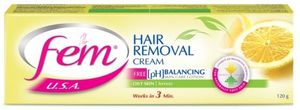 Fem Hair Removal Cream Lemon 120g