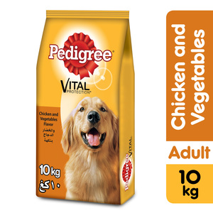 Pedigree Chicken & Vegetables Dry Dog Food Adult 10kg