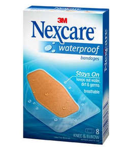 Nexcare Water Proof Bandages 10s