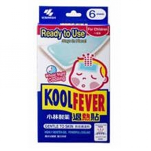 Kool Fever For Adult   Cooling Patches 4pc