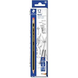 Staedtler Noris Pencil With Rubber Tip 1set