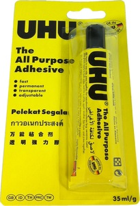 Uhu All Purpose Adhesive Glue 125ml