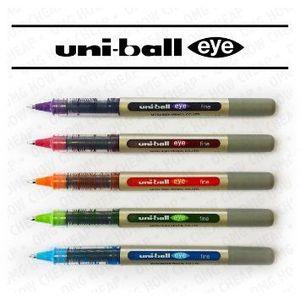 Uni Ball Eye Micro Pen Wlt=5 C 1x5's pack.