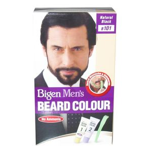 Bigen Mens Beard Color Natural Black 40g