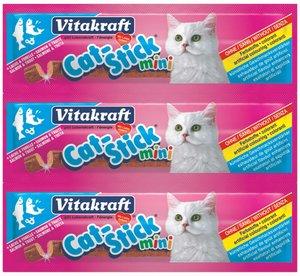 Vita Cat Stcks Mini Salmon & Trout 1pc