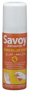 Savoy Antiseptic Burn Relief Spray 50ml