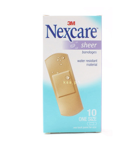 Nexcare Sheer Bandages 10s