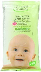 Corine De Farme Baby Face & Hand Wipes 10s