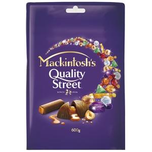 Mackintosh Quality Street Chocolate Pouch 600g