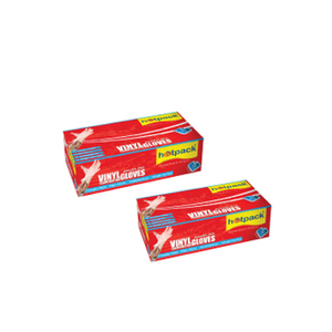 Hotpack Latex Disposable Gloves 100s