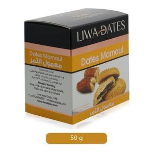 Liwa Dates Mamoul Snack 48x50g