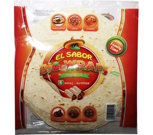 El Sabor Big Tortilla Wraps 420g