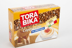 Tora Bika Cappucino Sugar Free 20x12.5g
