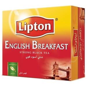 Lipton Black English Breakfast 25s